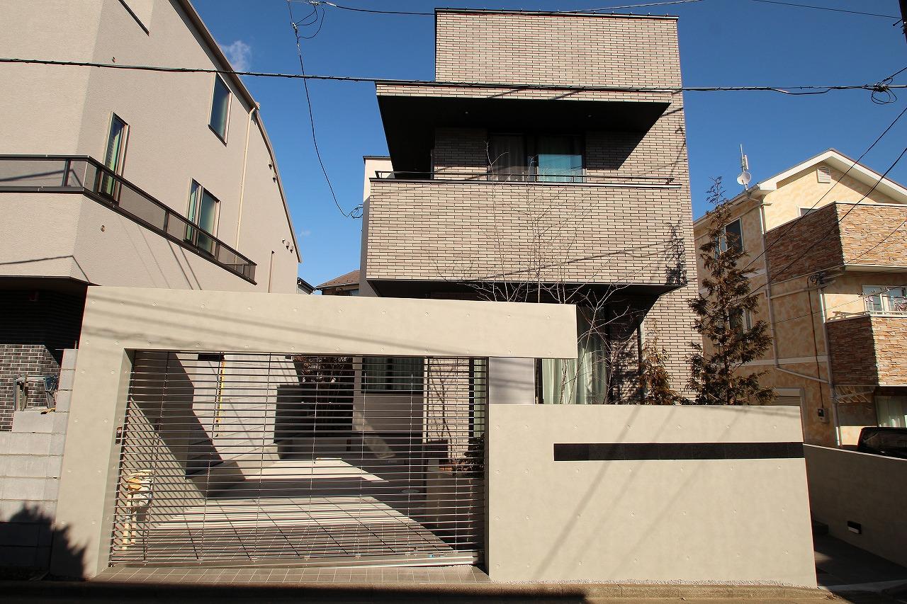 建物と外構のバランスが絶妙な邸宅